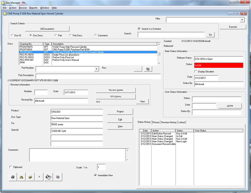 Document Management Software By RealVision Manufacturing Software - Software documentation